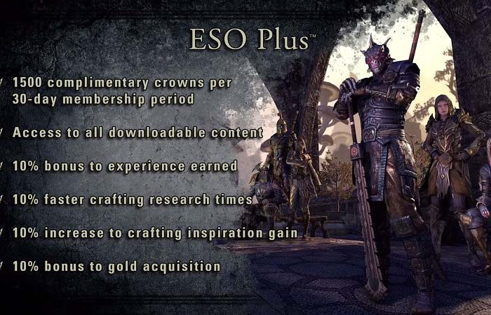 خرید Elder Scrolls Online Plus Membership (اشتراک پلاس بازی)