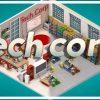 سی دی کی اورجینال بازی Tech Corp