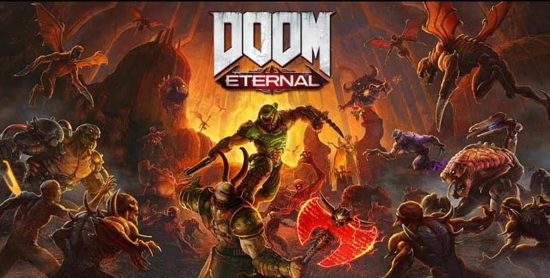 سیسی دی کی اورجینال بازی DOOM Eternal دی کی اورجینال بازی DOOM Eternal