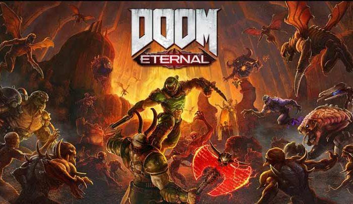 سی دی کی اورجینال بازی DOOM Eternal
