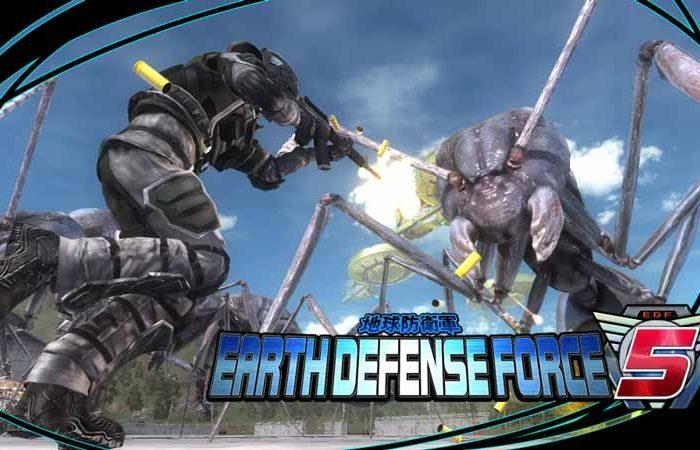 سی دی کی بازی Earth Defense Force 5 اورجینال