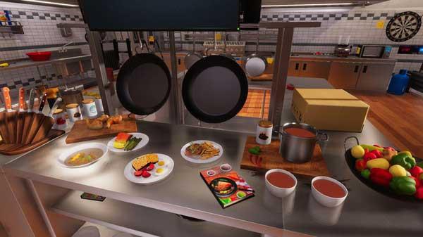 سی دی کی اورجینال بازی Cooking Simulator