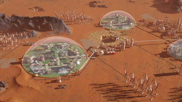 سی دی کی اورجینال بازی Surviving Mars