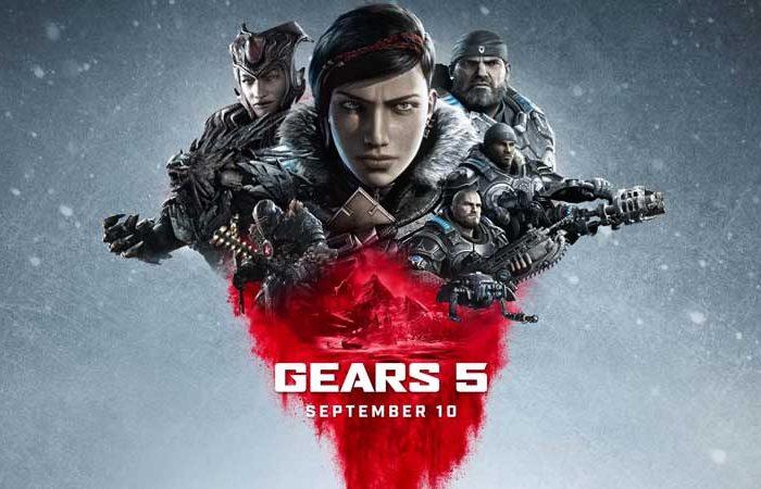 سی دی کی اورجینال بازی Gears 5