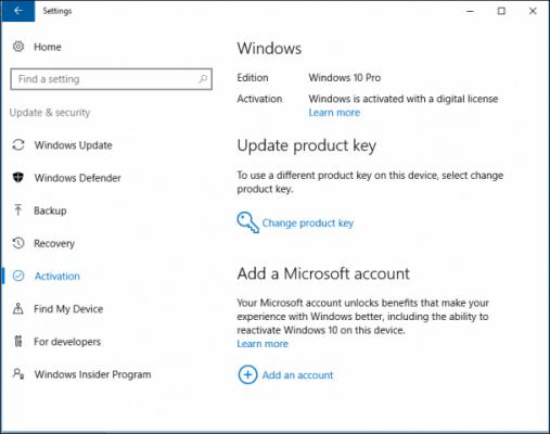 آموزش فعال سازی قانونی ویندوز 10 مایکروسافت
