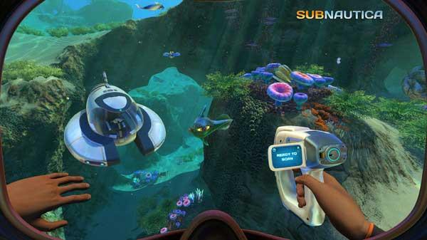 سی دی کی اورجینال بازی Subnautica