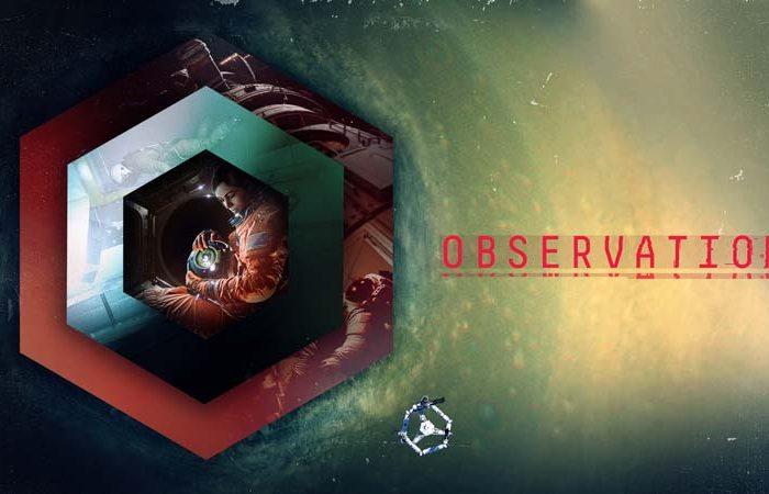 سی دی کی اورجینال بازی Observation
