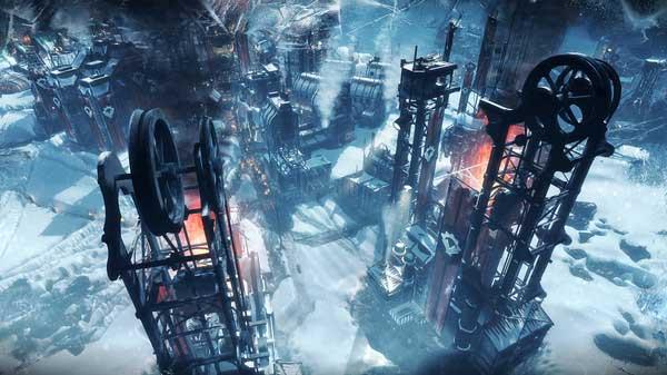 سی دی کی اورجینال بازی Frostpunk