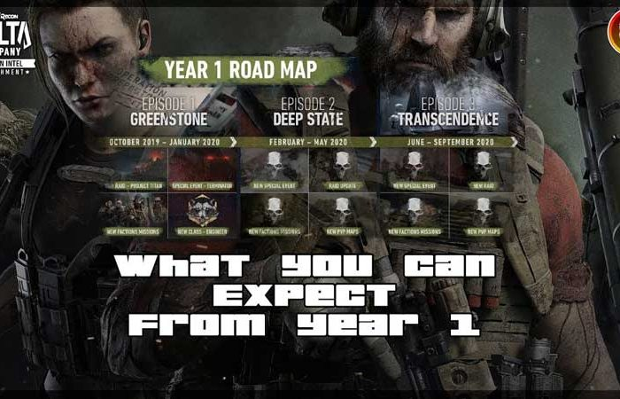 سی دی کی Tom Clancy's Ghost Recon Breakpoint Year 1 Pass
