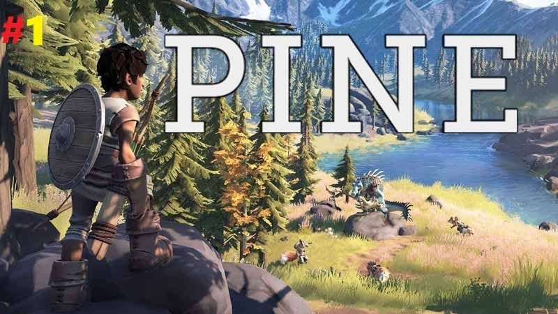 سی دی کی اورجینال بازی Pine