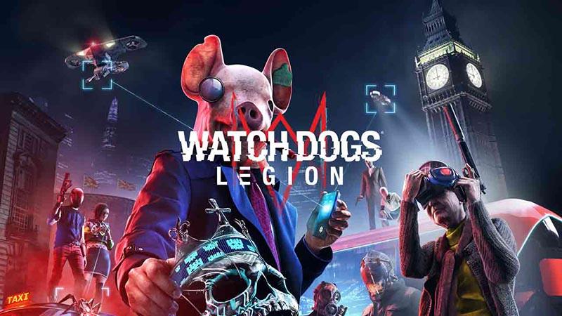 سی دی کی اورجینال Watch Dogs Legion