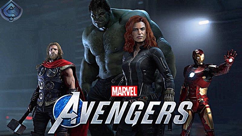 سی دی کی اورجینال بازی Marvels Avengers