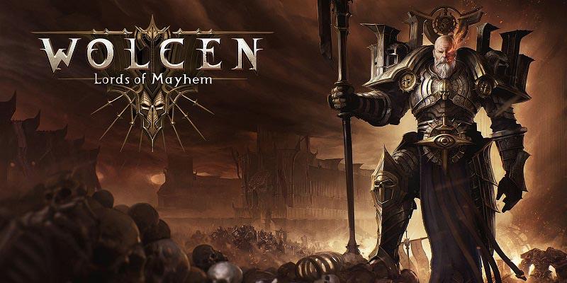 سی دی کی اورجینال Wolcen Lords of Mayhem