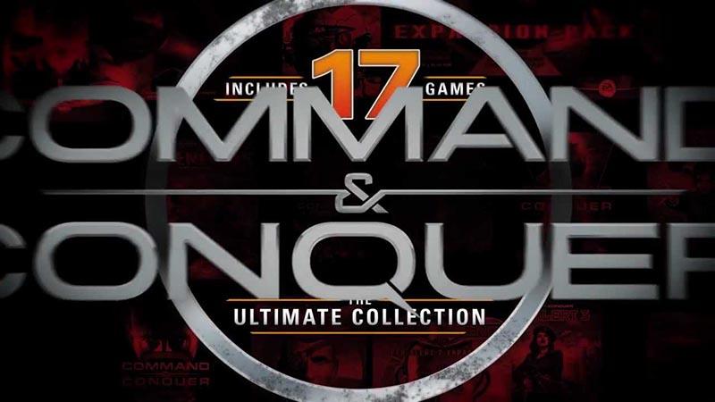 سی دی کی اورجینال Command and Conquer The Ultimate Collection