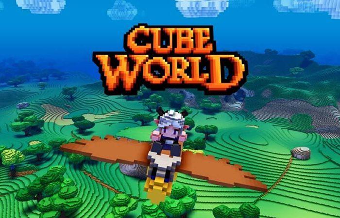 سی دی کی اورجینال بازی Cube World