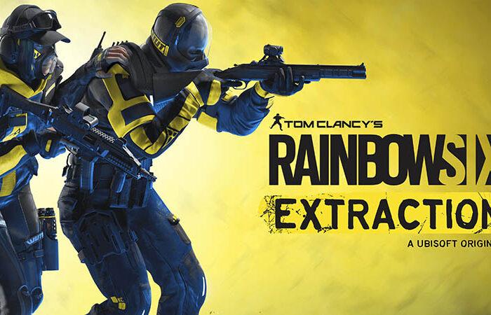 سی دی کی اورجینال Rainbow Six Extraction (Quarantine)