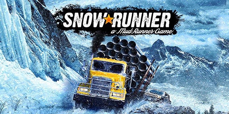 سی دی کی اورجینال بازی SnowRunner