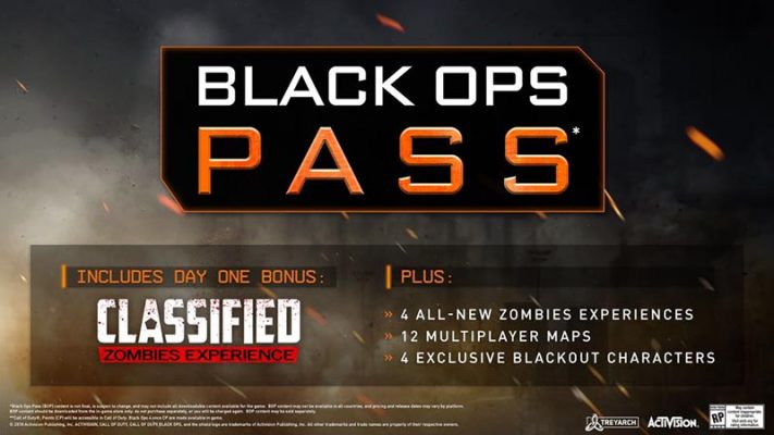 سی دی کی COD BO4 - Black Ops Pass (سیزن پس بازی)