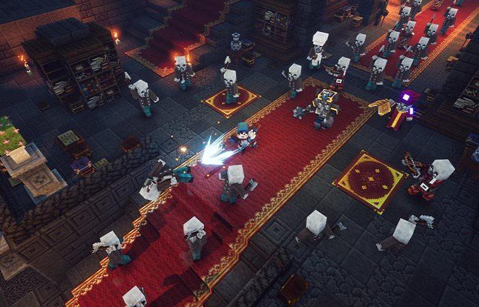 سی دی کی اورجینال بازی Minecraft Dungeons