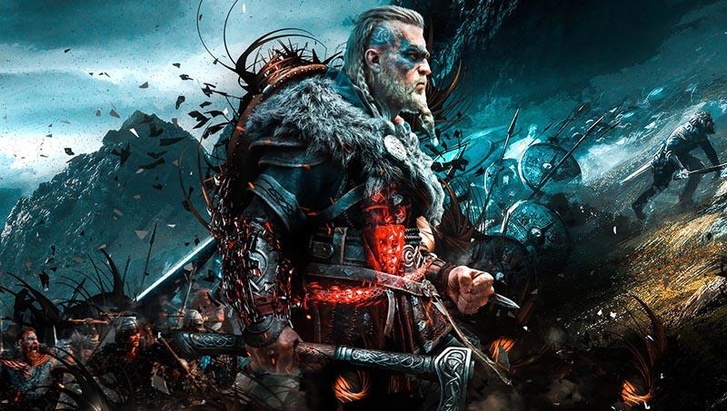 سی دی کی اورجینال بازی Assassins Creed Valhalla