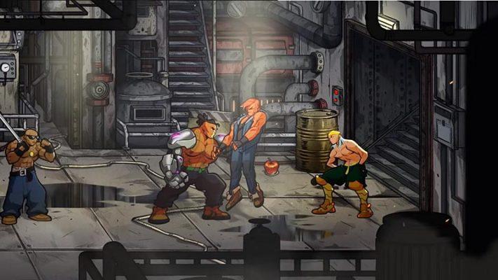 سی دی کی اورجینال بازی Streets of Rage 4