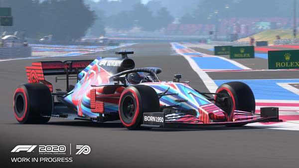 سی دی کی اورجینال بازی F1 2020