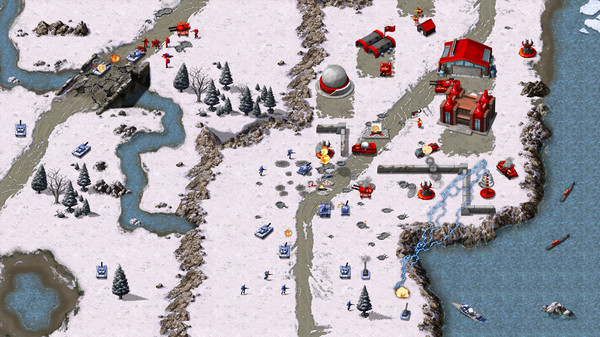 سی دی کی اورجینال Command & Conquer Remastered Collection