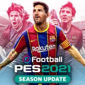 سی دی کی اورجینال بازی eFootball PES 2021 (پی اس 2021)