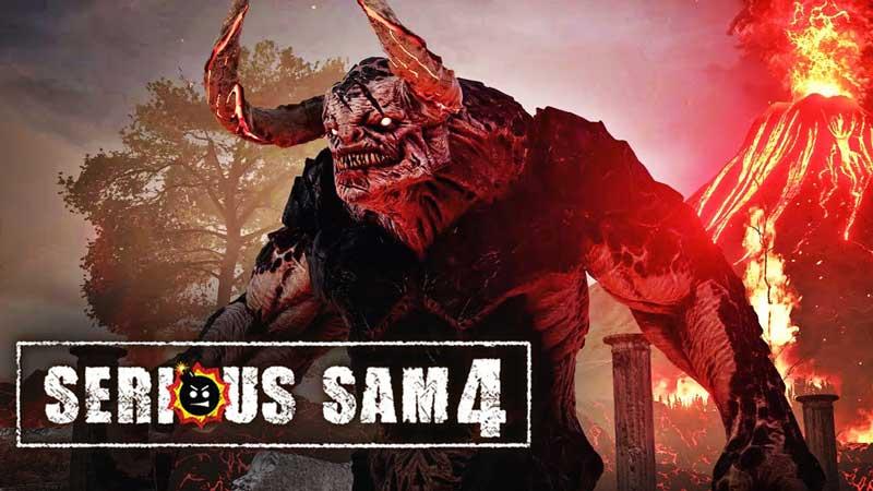 سی دی کی اورجینال بازی Serious Sam 4