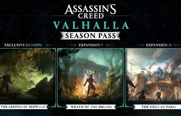 سی دی کی Assassin's Creed Valhalla Season Pass (سیزن پس بازی)