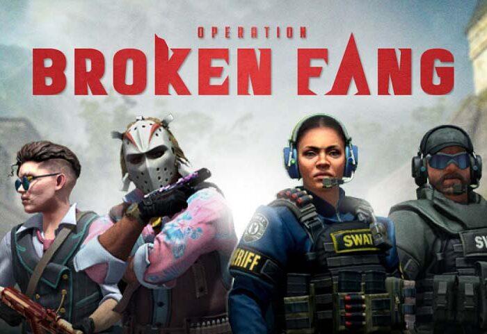 سی دی کی اورجینال CSGO - Operation Broken Fang
