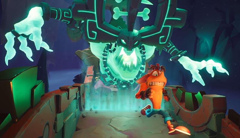 سی دی کی اورجینال Crash Bandicoot 4 Its About Time