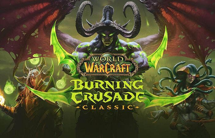 سی دی کی اورجینال World of Warcraft Burning Crusade Classic