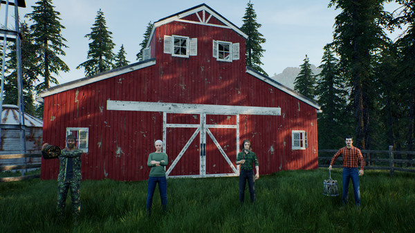 سی دی کی اورجینال بازی Ranch Simulator