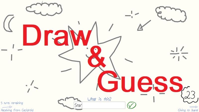 سی دی کی اورجینال Draw & Guess