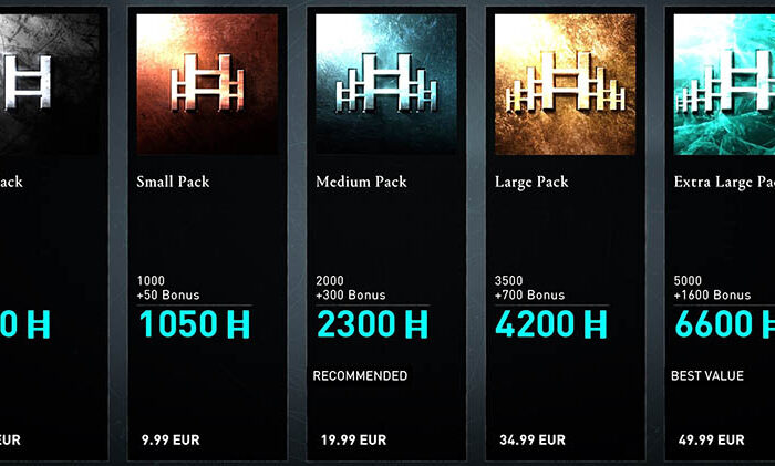 سی دی کی Helix Credits - Assassin's Creed Valhalla (پول داخل بازی)