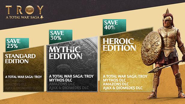 سی دی کی اورجینال Total War Saga Troy